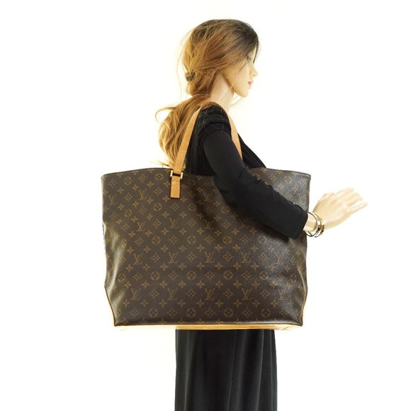 Auth Louis Vuitton Cabas Alto Tote Bag #6970L29